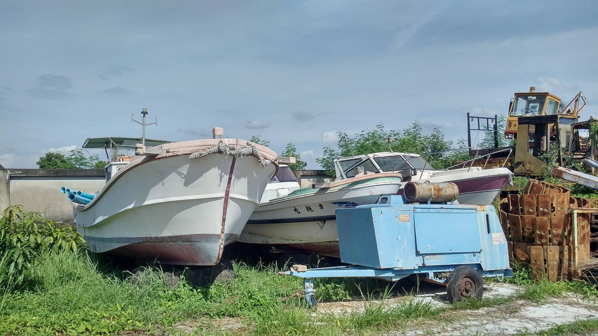 เรือ speed boat เก่าญี่ปุ่น 1