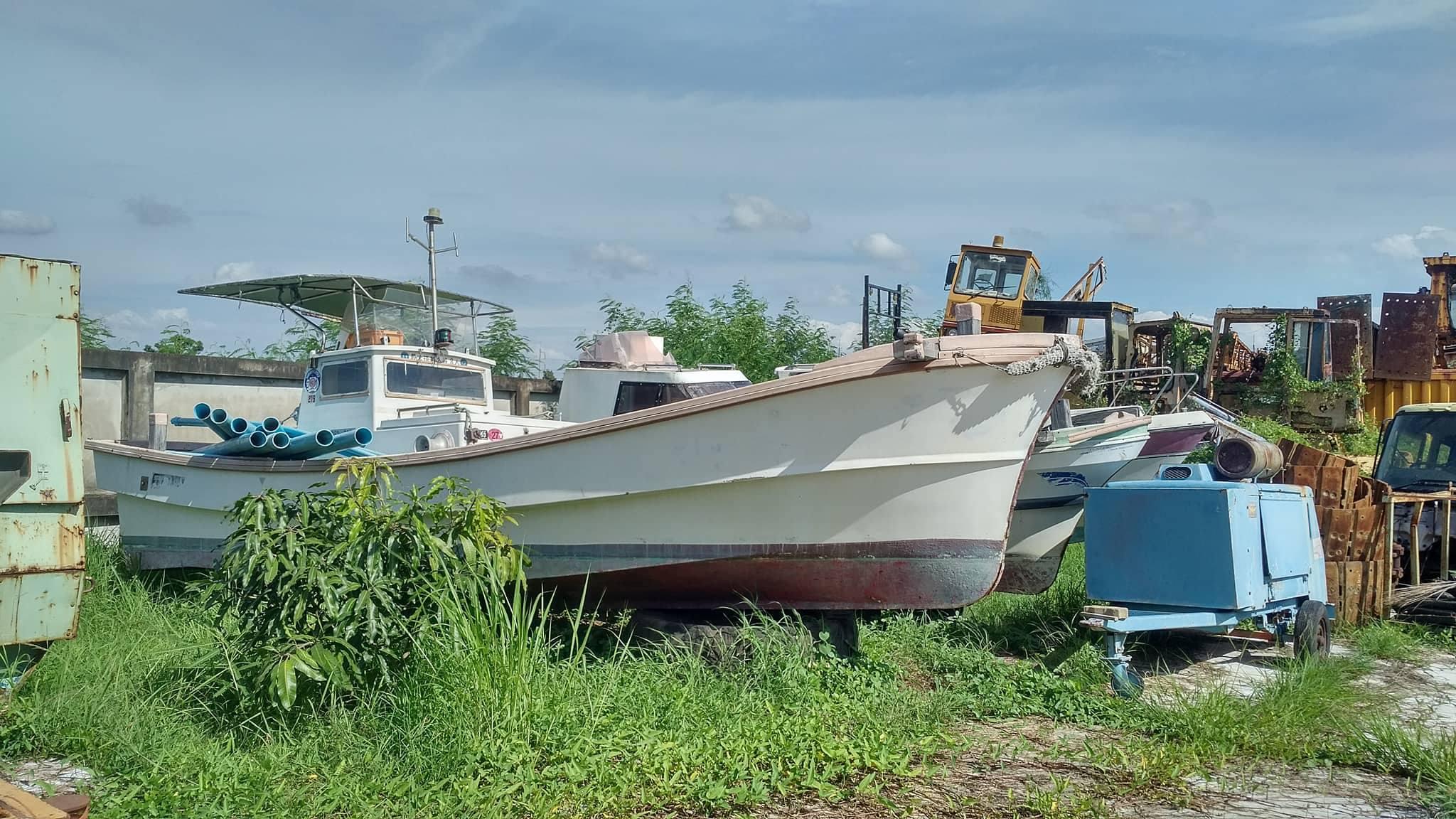 เรือ speed boat เก่าญี่ปุ่น 3