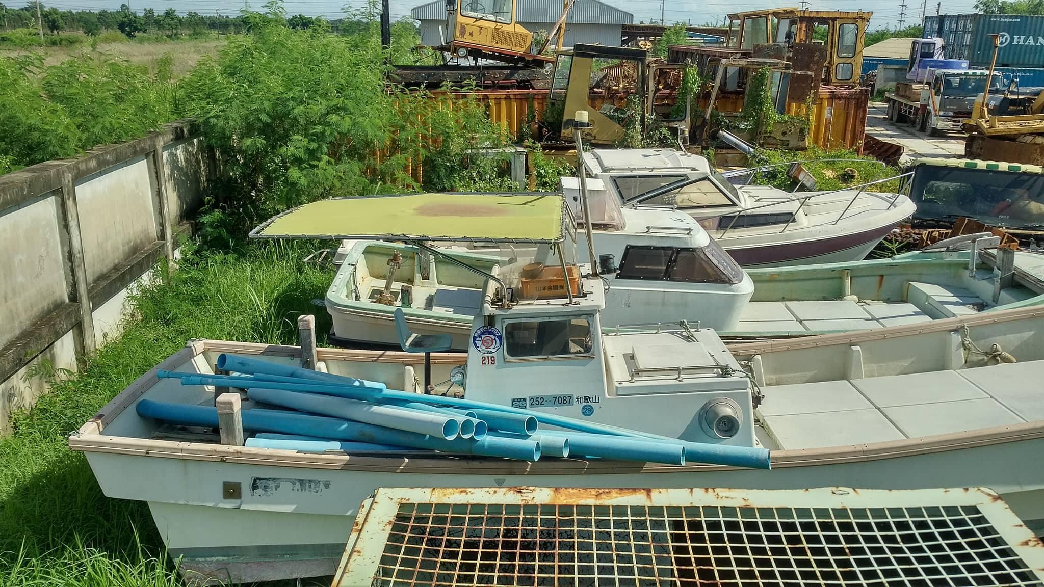 เรือ speed boat เก่าญี่ปุ่น 4