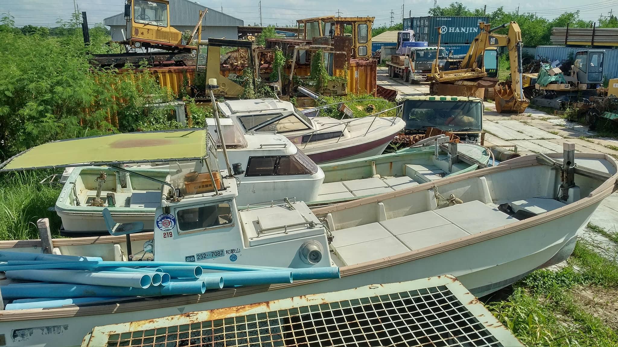 เรือ speed boat เก่าญี่ปุ่น